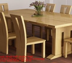 Lựa chọn các mẫu nội thất bàn ăn, mẫu bàn ghế gỗ đẹp dành cho căn phòng ăn của cả nhà