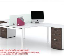 Thiết kế bàn nhân viên đơn giản
