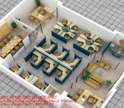 Mô hình thiết kế văn phòng