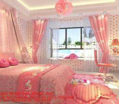 Mẫu phòng ngủ bé gái