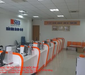 Thiết kế nội thất Ngân hàng SHB