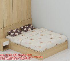 Vẽ giường ngủ nhà A Hùng khu chung cư